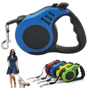 auto retractable dog leads in uk